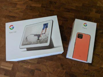 google pixel 4 nest hub