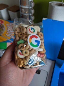 google pixel 4 sušenky