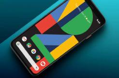google pixel 4 živé tapety