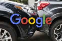 google rozpoznání nehody