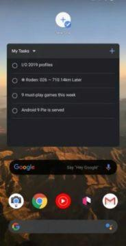 google tasks widget