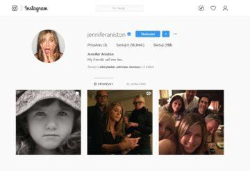 instagram jennifer aniston