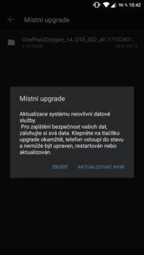 instalace betaverze andoid oneplus screen potvrzeni