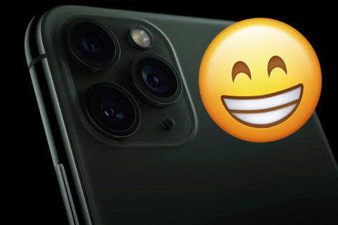 iphone 11 fotoaparát samolepka
