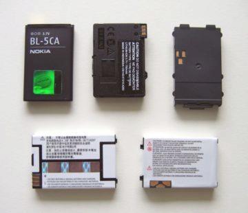 Li-Ion baterie telefony