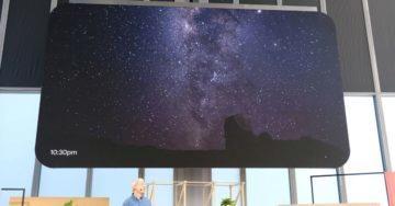 live hdr + portrétní režim noční obloha