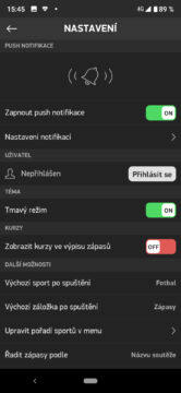 livesport česká aplikace
