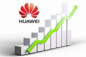 milník 200 milionů prodaných telefonů Huawei