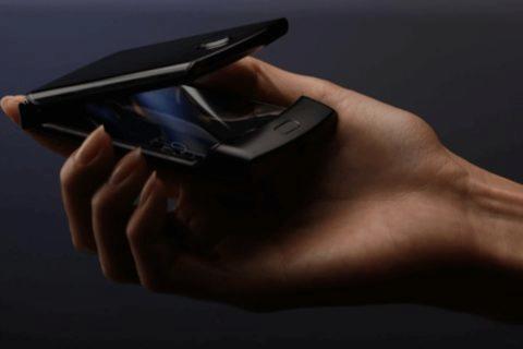 Motorola RAZR s ohebnym displejem