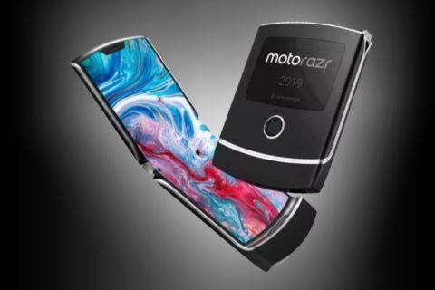Motorola RAZR s ohebným displejem