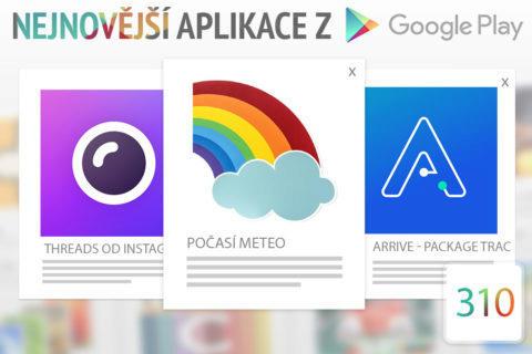 Nejnovější aplikace z Google Play #310: sledujte své zásilky z Číny