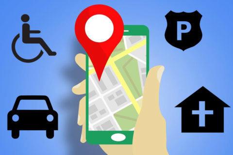 události v google mapách