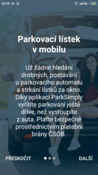 ParkSimply Brno - placené parkování v Brně