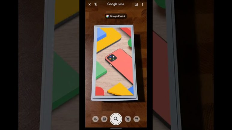 Pixel 4 cool Google Lens-enabled Easter egg