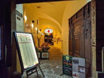 pixel 4 italská restaurace