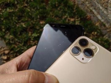 Pixel 4 škrábance na displeji iPhone 11 Pro Max