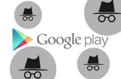 Incognito mode v Google Play Store
