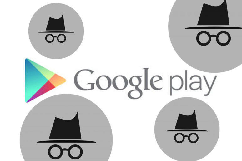 Incognito mode v Google Play Store