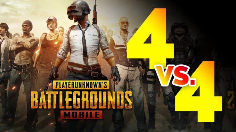 PUBG Mobile Deathmatch 4vs4 🎮 český gameplay