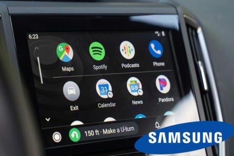 samsung android auto bezdrátově