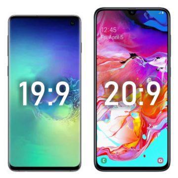 Samsung Galaxy S10 a A70