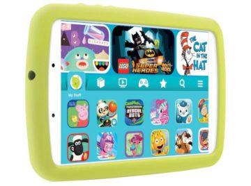 Samsung Galaxy Tab A Kids Edition front left