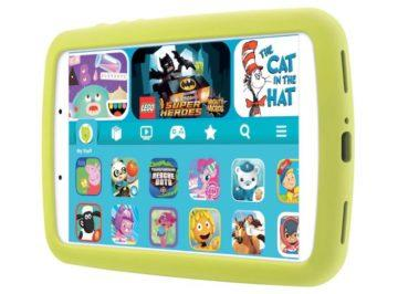 Samsung Galaxy Tab A Kids Edition front right