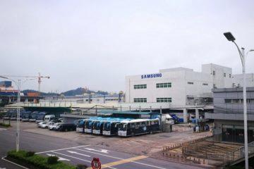 samsung zavřel továrnu v číně