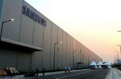 samsung zavření továrny