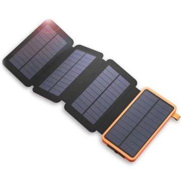 Solární powerbanka 25 000 mAh