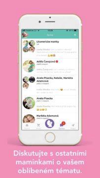 Tezu aplikace pro maminky