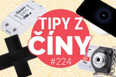 Tipy z ciny 224 - xiaomi bezdrátová nabíječka