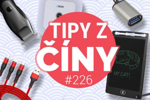 Tipy z ciny 226 - Xiaomi zastřihovač vousů