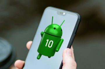 upgrade na Android 10