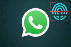 whatsapp zabezpečení otisk prstu