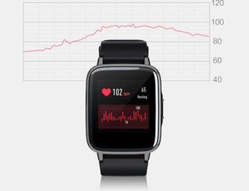 xiaomi hodinky měření srdečního tepu