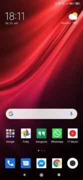 Xiaomi Mi 9T Pro homescreen