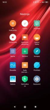 Xiaomi Mi 9T Pro launcher