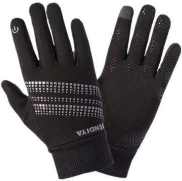 zimní rukavice na ovládání displeje