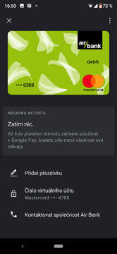airbank google pay