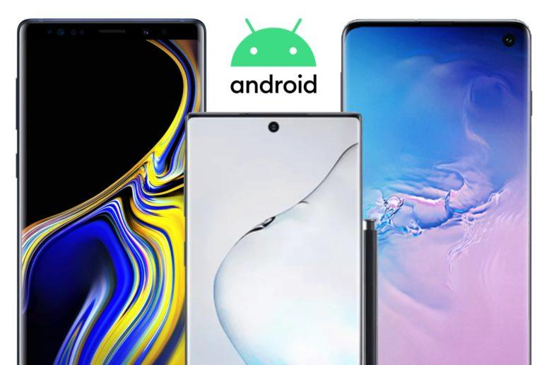 Android 10 pro Samsung