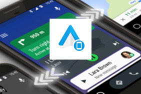 android auto phone screen android 10