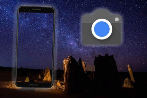 Astro mód pro Pixel 3