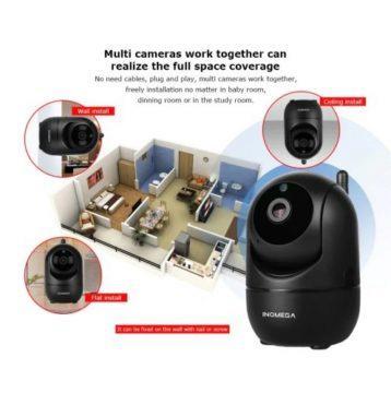 Bezdrátová chytrá Wifi kamera
