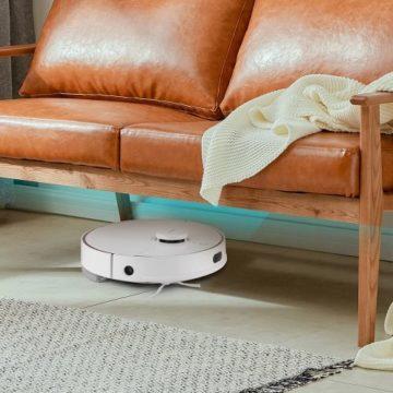 Chytrý robotický vysavač