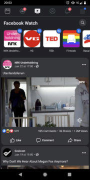 facebook tmavý režim apliakce