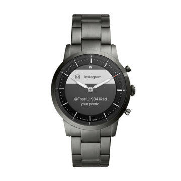 fossil hybrid hr hodinky