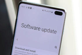 galaxy s10 software update
