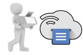 google konec cloud print
