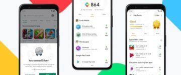 Google Play Points přehled